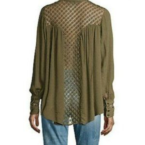 Free people the best blouse button down